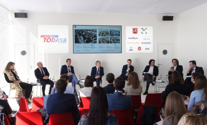 MIPIM 2018 - EVENTS - OFFICIAL OPENING - OPENING OF THE MOSCOW CITY GOVERNMENT STAND