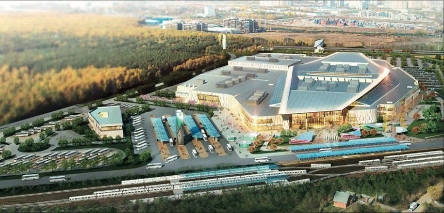 Вблизи станции «Саларьево» планируется построить транспортно- пересадочный узел (ТПУ) с автомобильной парковкой и стоянкой для наземного общественного транспорта