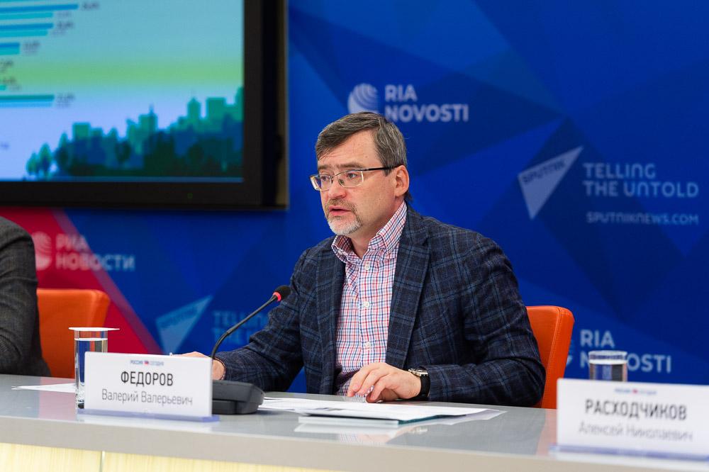 Валерий ФЁДОРОВ, генеральный директор ВЦИОМ