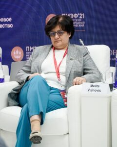 Мелита Вуйнович, представитель Всемирной организации здравоохранения в России