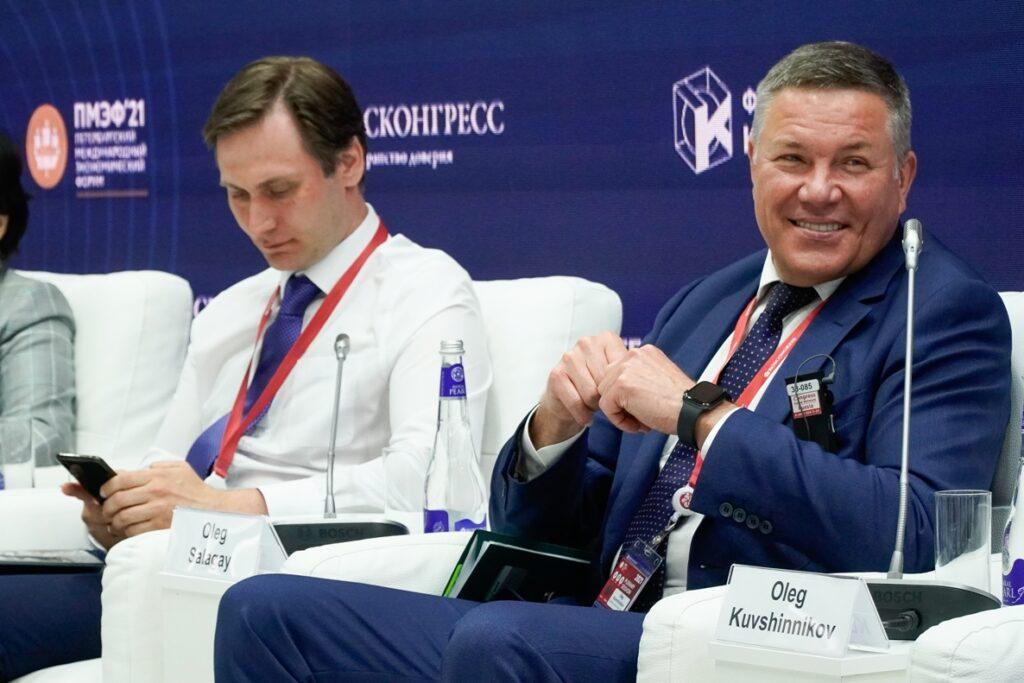 Кувшинников Олег Александрович, губернатор Вологодской области